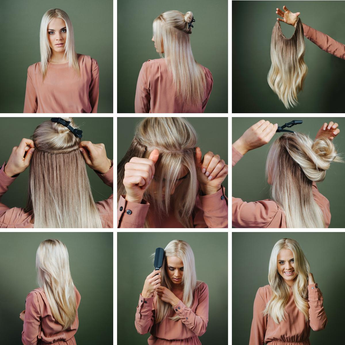 taber meget hår kvinde